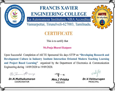 Developing research and development culture in industry interaction oriented modern teaching learing